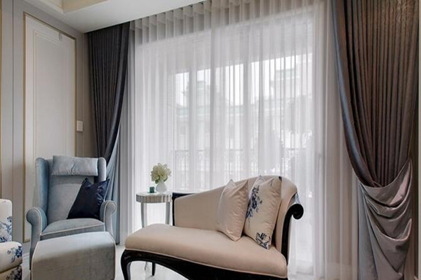 DIY beautiful curtains create a romantic life