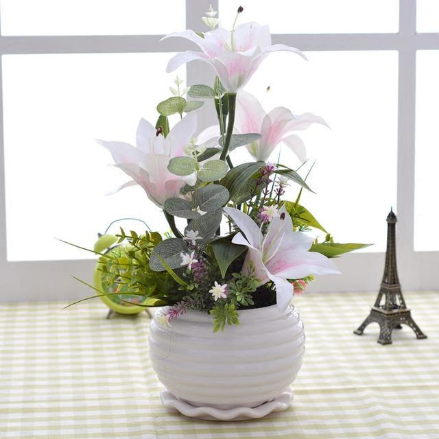 Decorative home helper, beautiful European and American artificial flowers