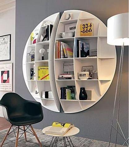 DIY creative bookshelf, both practical and beautiful
