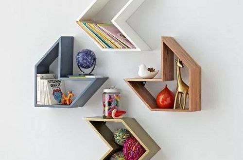 DIY creative bookshelf, both practical and beautiful
