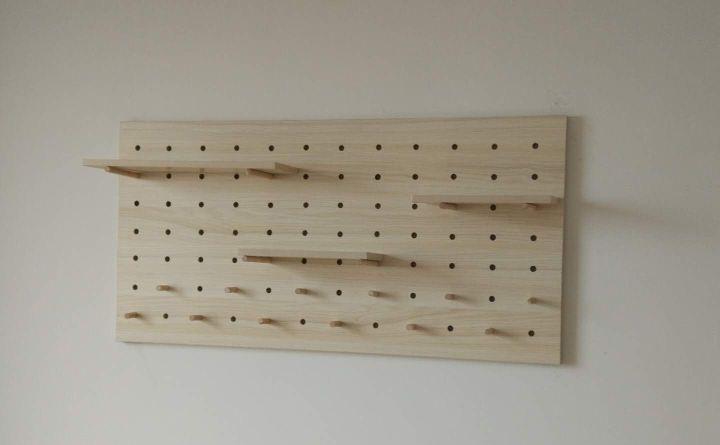 DIY storage hole plate making #wooden