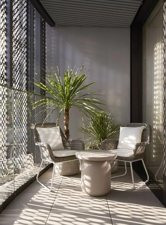Inspiration for Small Apartment Balconies in the City
