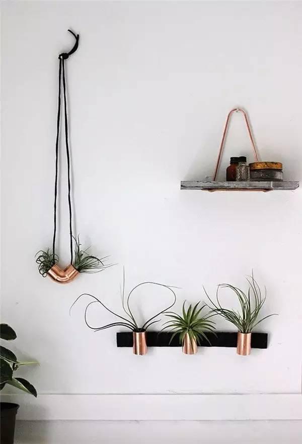 Handmade bonsai natural angle of waste materials