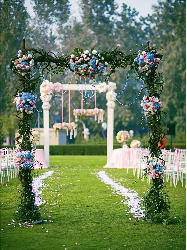 28 Totally Brilliant Garden Wedding Decoration Ideas