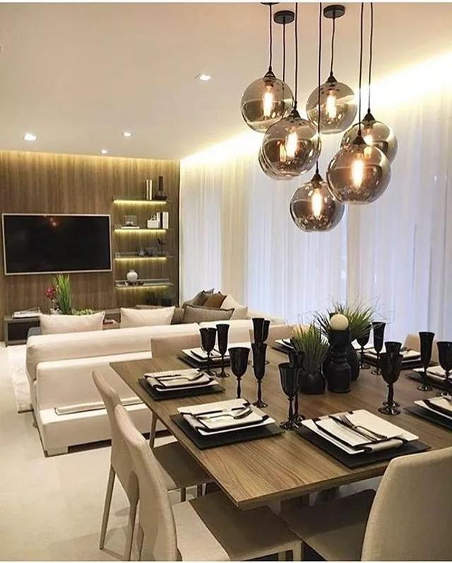 44 Elegant Dining Room Lighting Ideas