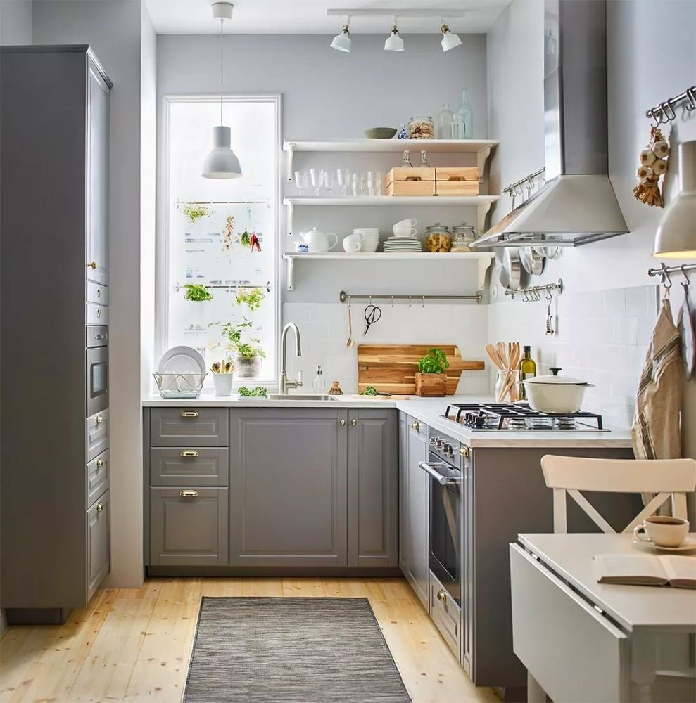 Different styles of L-shaped kitchen #kitchen # lshapedkitchen