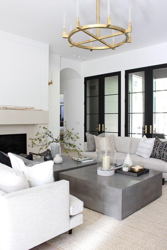 40+ Beautiful Living Room Lighting Ideas beautiful,lamp, living room, lighting ideas