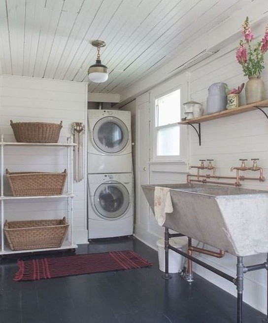 37 Laundry Room Design Ideas You Need to See home design, laundry room, washing machine, storage ideas